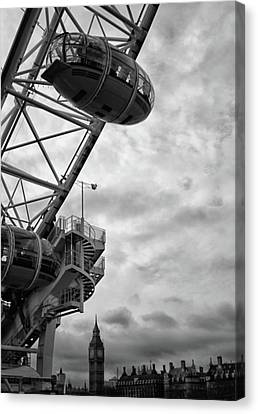 The London Eye Canvas Print by Martin Newman