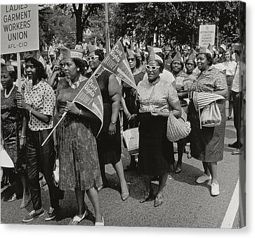 The March On Washington Canvas Print