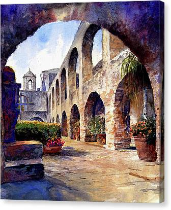 The Mission Canvas Print by Andrew King