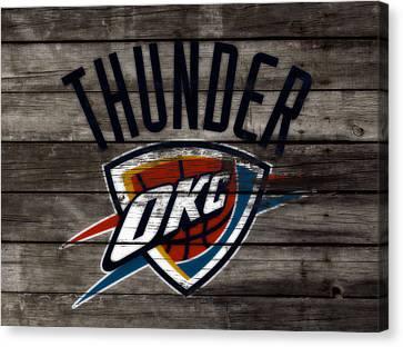 The Oklahoma City Thunder  Canvas Print