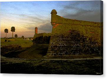 The Old Castillo Canvas Print by David Lee Thompson