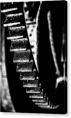 Old Mills Canvas Print - The Old Wheel by Tommytechno Sweden