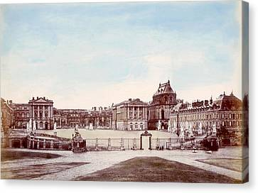The Palace Of Versailles. C. 1880 Canvas Print by Everett