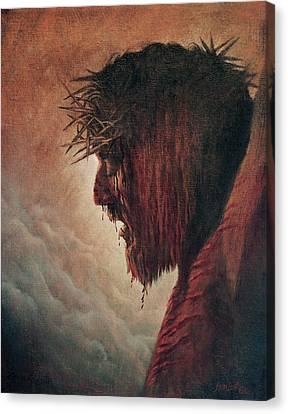 The Passion Canvas Print by Artist Karen Barton