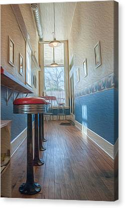 Canvas Print featuring the photograph The Pie Shop by Dan Traun