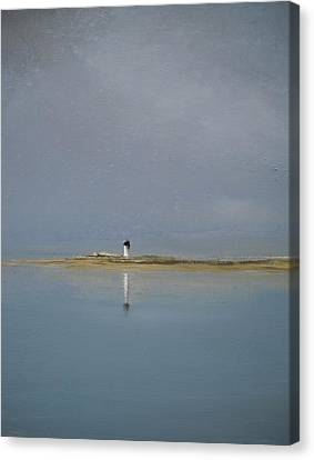 The Point Canvas Print by Michael Marrinan