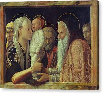 Jerusalem Canvas Print - The Presentation by Andrea Mantegna
