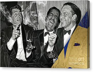 The Rat Pack Collection Canvas Print