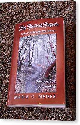 Canvas Print featuring the photograph The Recordkeeper by Marie Neder