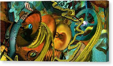 The Riotous Rope Canvas Print