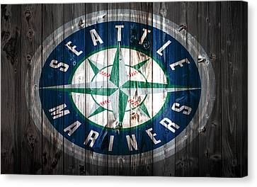 The Seattle Mariners 1a Canvas Print by Brian Reaves