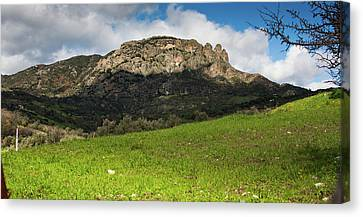 The Three Finger Mountain Canvas Print by Bruno Spagnolo