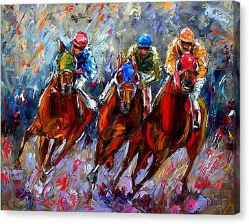The Turn Canvas Print by Debra Hurd