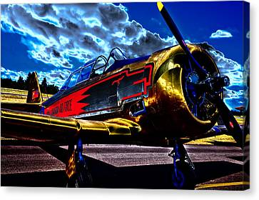 The Vintage North American T-6 Texan Canvas Print by David Patterson