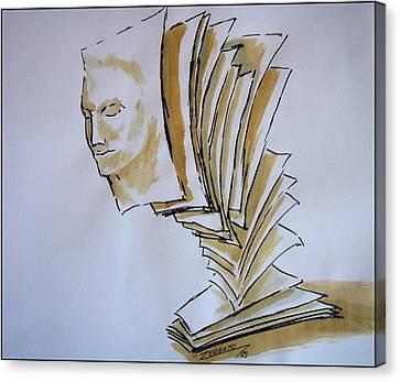 Theory Canvas Print