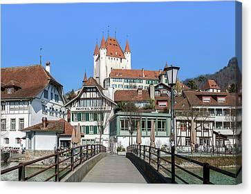 Thun - Switzerland Canvas Print by Joana Kruse
