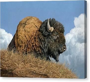 Thunder Beast Canvas Print