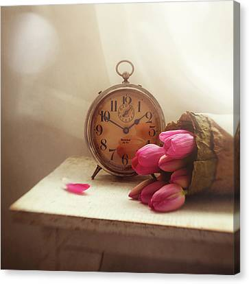 Canvas Print featuring the photograph Time Stood Still by Amy Weiss