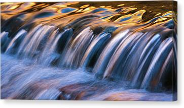 Timeless Cascade Canvas Print by Chris Moore