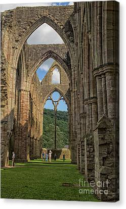 Canvas Print - Tintern Abbey by Patricia Hofmeester