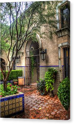 Tlaquepaque Shopping Village - Sedona  Arizona Canvas Print