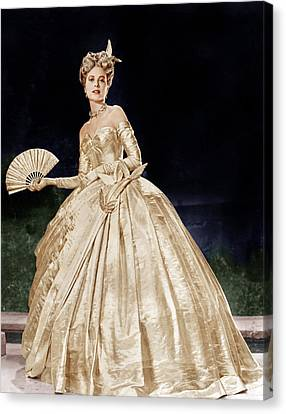 To Catch A Thief, Grace Kelly, 1955 Canvas Print