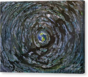 Outer Space Canvas Print - #togetherwhereverwego by Rebecca Weeks Howard