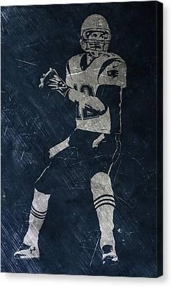 Tom Brady Patriots 2 Canvas Print