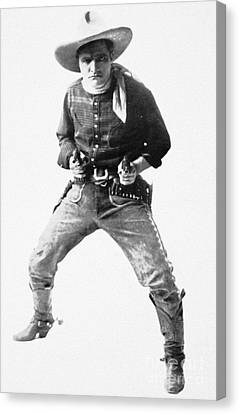 Aodng Canvas Print - Tom Mix (1880-1944) by Granger