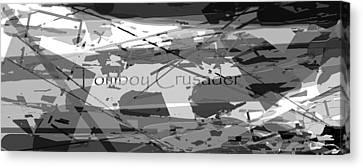 Tomboy Crusader 3 Canvas Print by Tate Devros