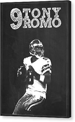 Tony Romo Canvas Print