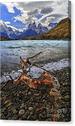 Torres Del Paine 17 Canvas Print