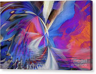 Canvas Print featuring the digital art Transition 2016 by Margie Chapman