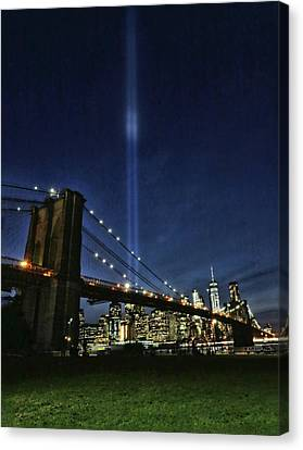 Canvas Print - Tribute In Light # 3 by Allen Beatty