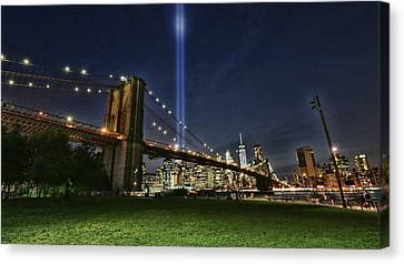 Canvas Print - Tribute In Light # 6 by Allen Beatty