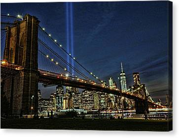 Canvas Print - Tribute In Light # 1 by Allen Beatty