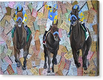Triple Crown Canvas Print by Michael Lee