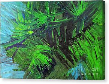 Tropical Paradise Canvas Print by Shelly Wiseberg