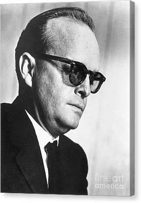 Truman Capote (1924-1984) Canvas Print by Granger