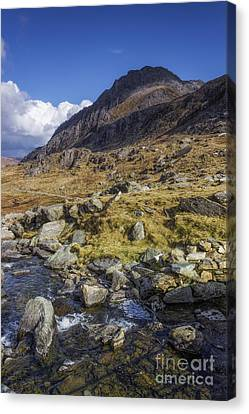Tryfan Canvas Print by Ian Mitchell