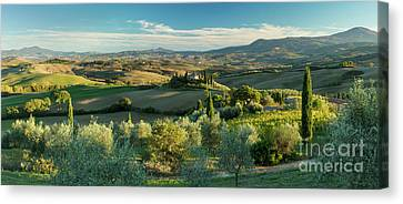 Tuscan Countryside Canvas Print by Brian Jannsen