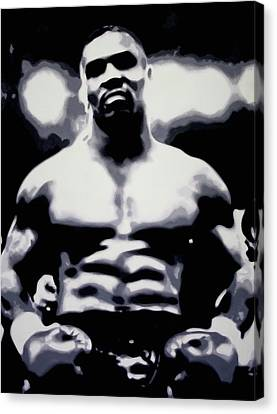 Tyson Canvas Print by Luis Ludzska