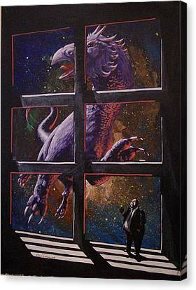 U-gi-o Canvas Print by David  Larcom