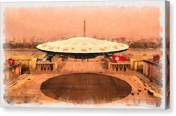 Ufo State Canvas Print by Esoterica Art Agency