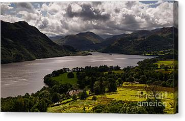 Ullswater Canvas Print by John Collier