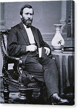 Ulysses Simpson Grant Canvas Print