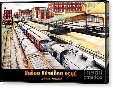 Union Station Canvas Print by David Neace