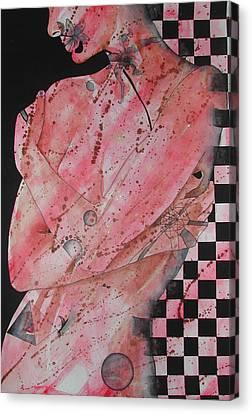 Universe Canvas Print by Rebecca Tacosa Gray