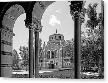 University Of California Los Angeles Powell Library Canvas Print