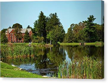 Uconn Canvas Print - University Of Connecticut by Mountain Dreams